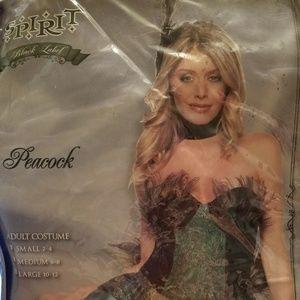 Womens Halloween peacock costume